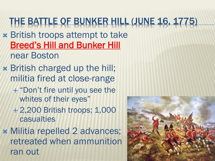 British troops attempt to take