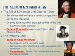 the southern campaign