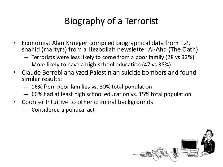 Biography of a Terrorist