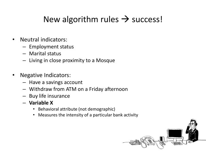 New algorithm rules