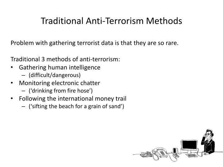 Traditional Anti-Terrorism Methods