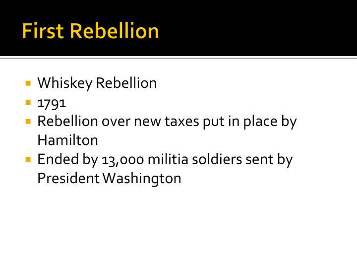 First Rebellion
