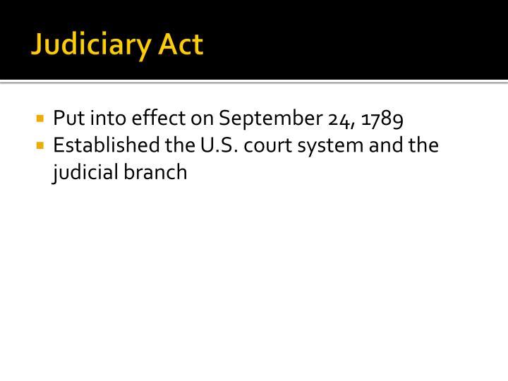 Judiciary Act
