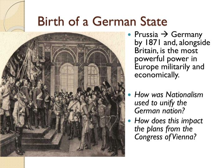 Birth of a German State