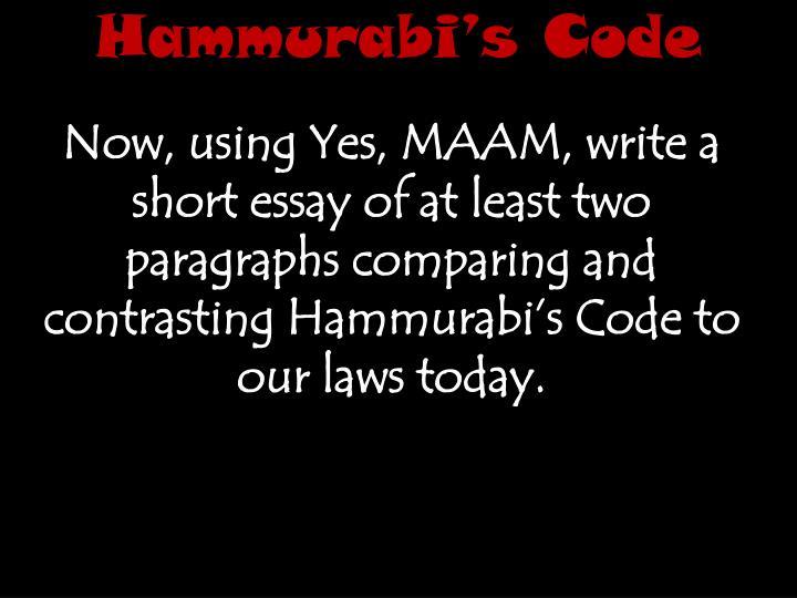 Hammurabi Essay