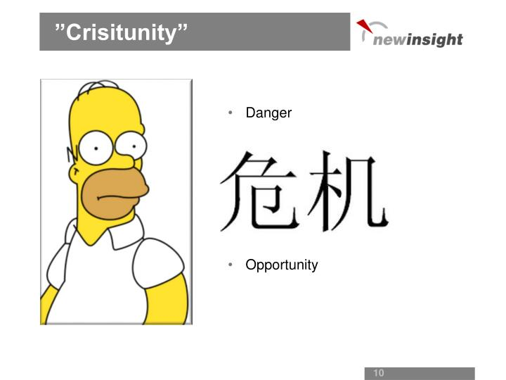 """Crisitunity"""