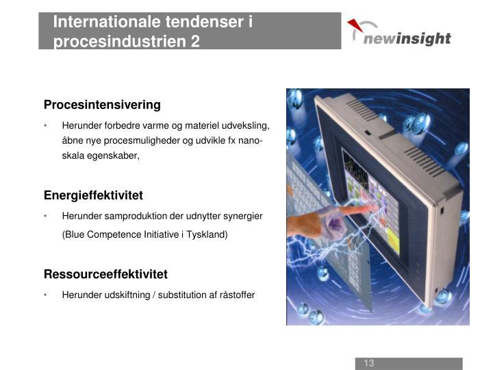 Internationale tendenser i procesindustrien 2