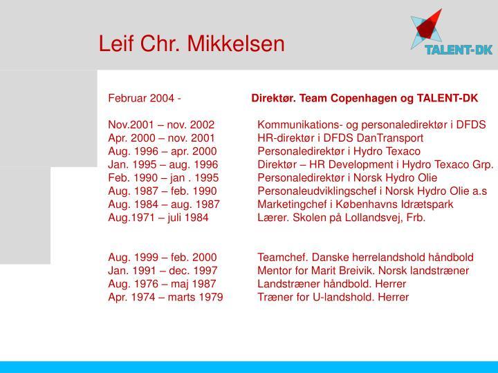 Leif Chr. Mikkelsen