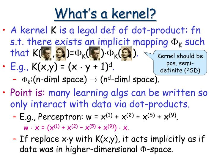 What's a kernel?