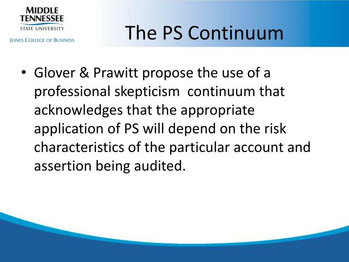 The PS Continuum