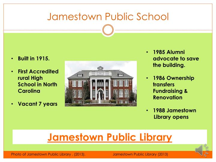Jamestown Public School