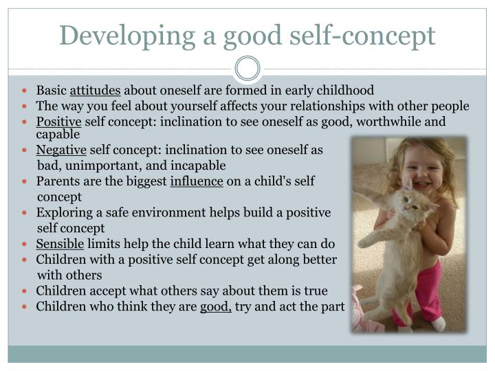 Developing a good self-concept