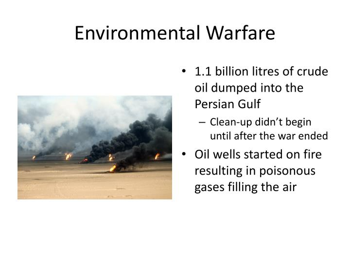Environmental Warfare