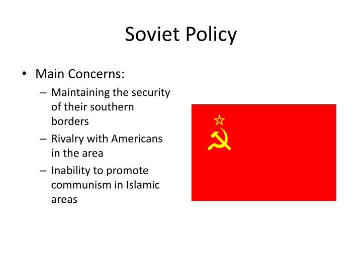Soviet Policy
