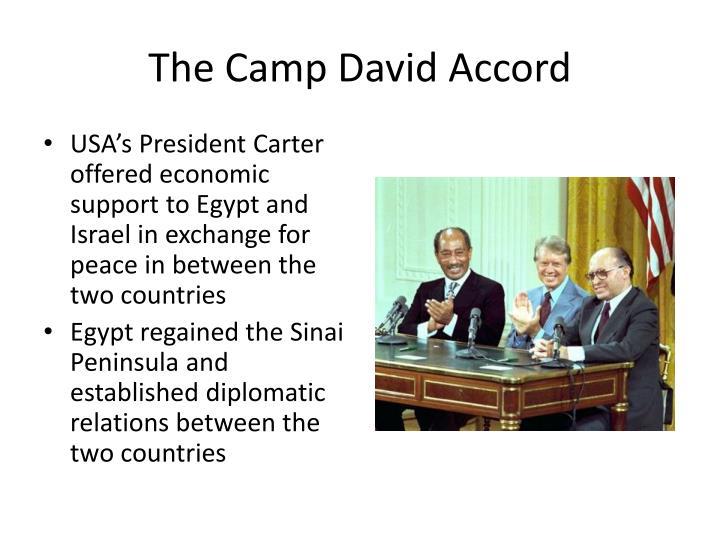 The Camp David Accord