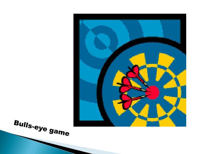 Bulls-eye game