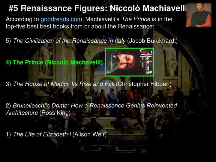 #5 Renaissance