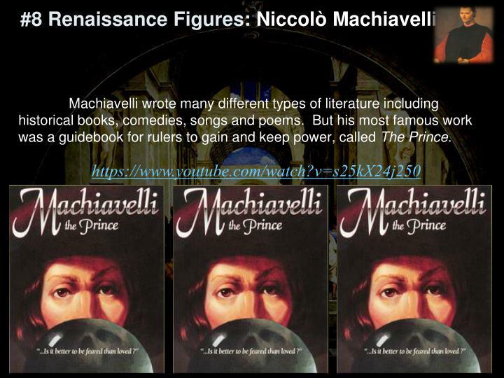 #8 Renaissance