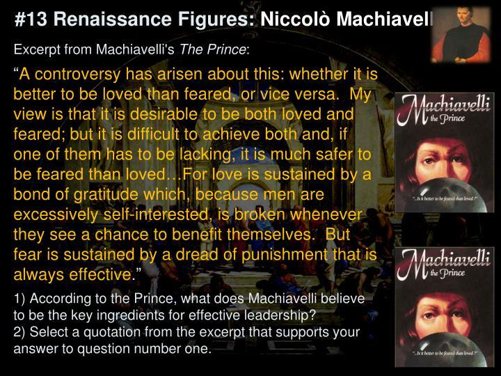 #13 Renaissance