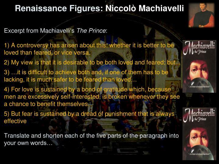 Renaissance Figures: