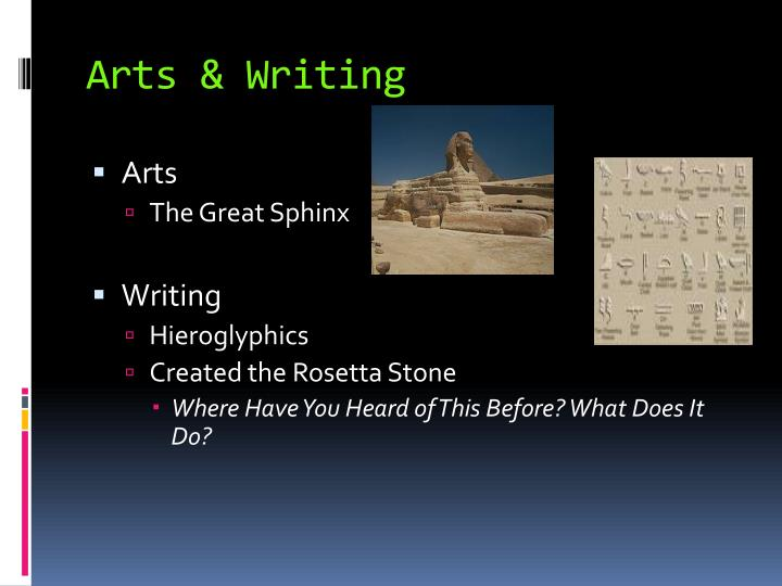 Arts & Writing