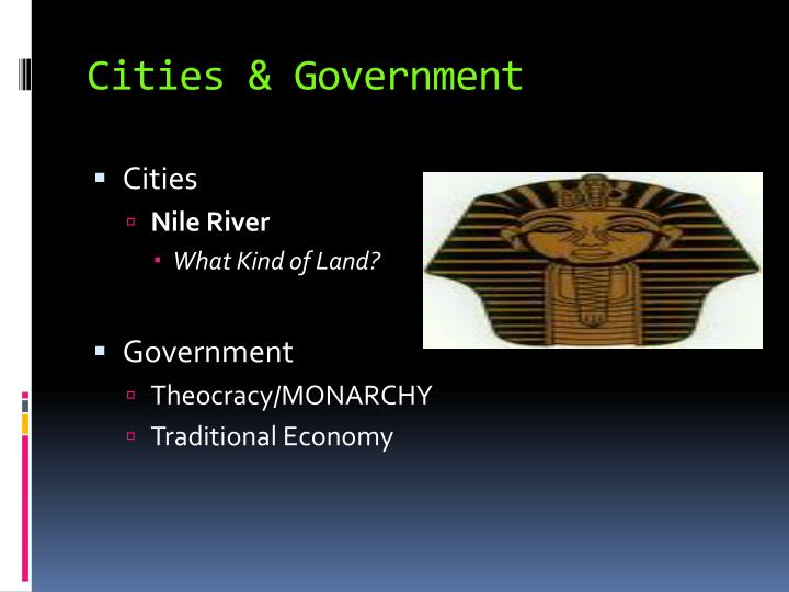 Cities & Government