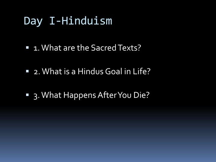 Day I-Hinduism