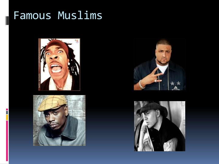 Famous Muslims
