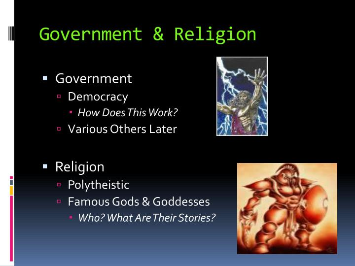 Government & Religion