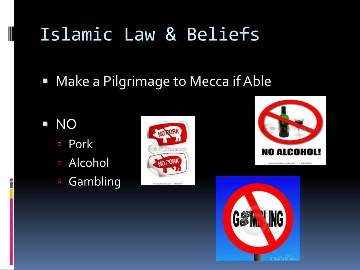 Islamic Law & Beliefs
