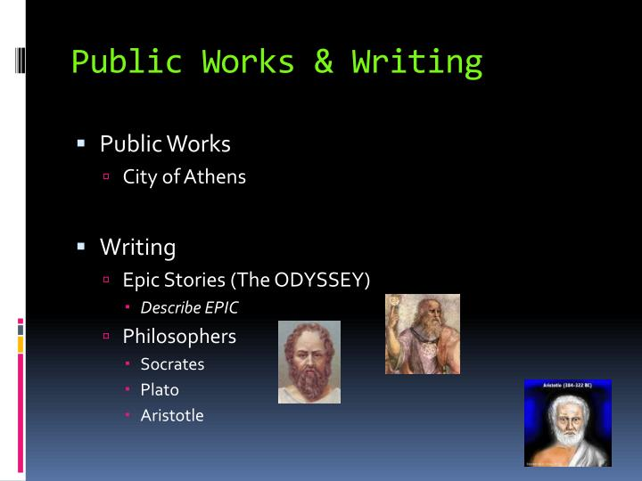 Public Works & Writing