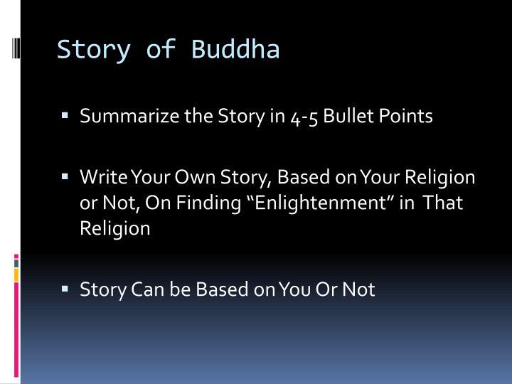 Story of Buddha