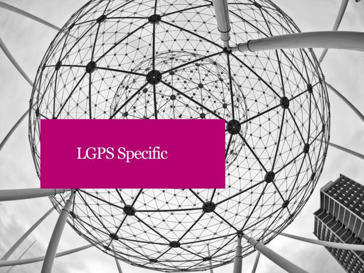 LGPS Specific