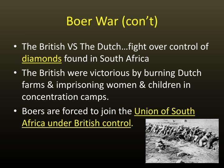 Boer War (