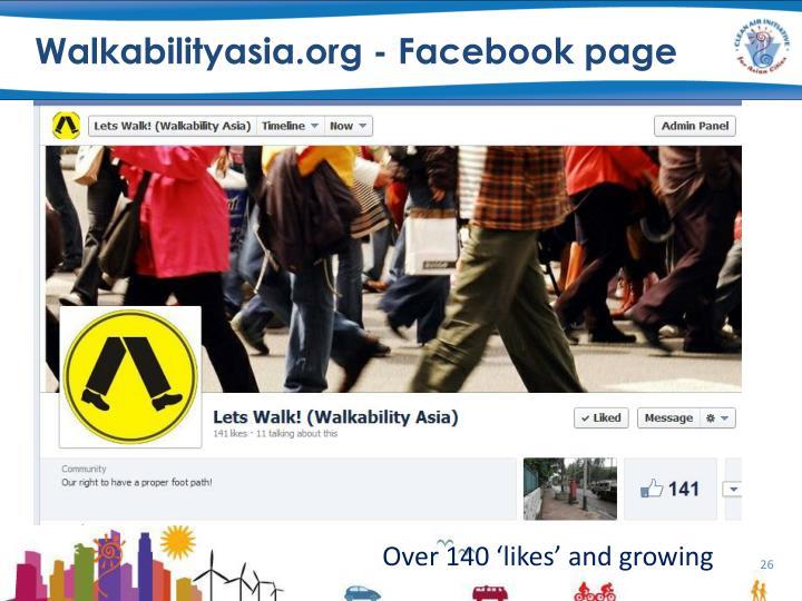 Walkabilityasia.org -