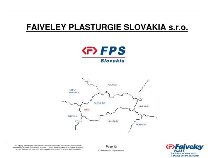 FAIVELEY PLASTURGIE SLOVAKIA s.r.o.