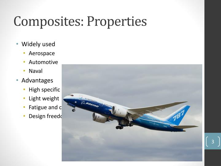 Composites properties