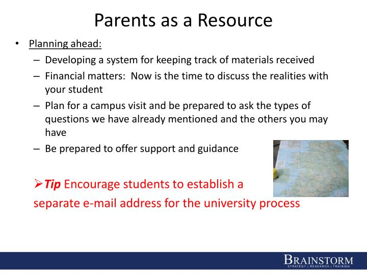 Parents as a Resource