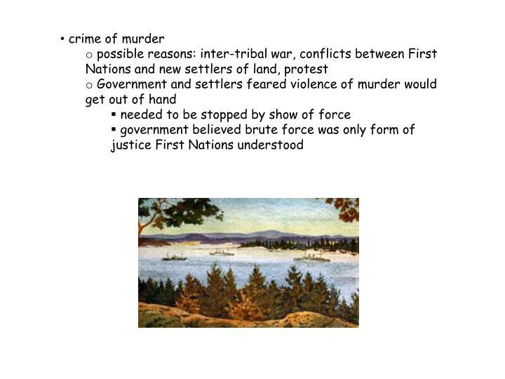 crime of murder