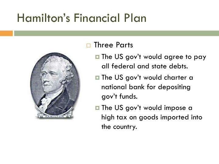 hamiltons financial plan