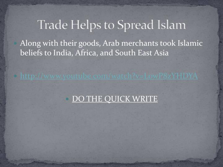 islam christianity views trade and merchants Sunni muslims are the religious majority in burkina faso, while roman  trading  centers like akan gold field which enabled the merchants to trade in gold, kola   led to the amalgamation of either christianity or islam alongside these beliefs.