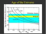 age of the universe1