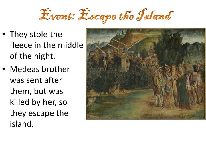 Event: Escape the Island