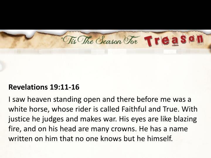 Revelations 19:11-16