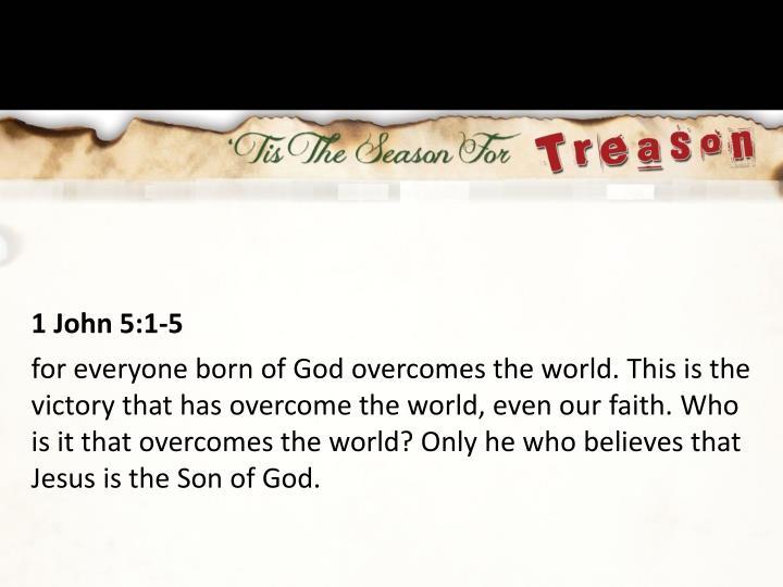 1 John 5:1-5