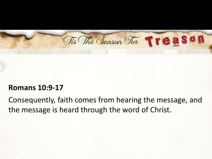 Romans 10:9-17
