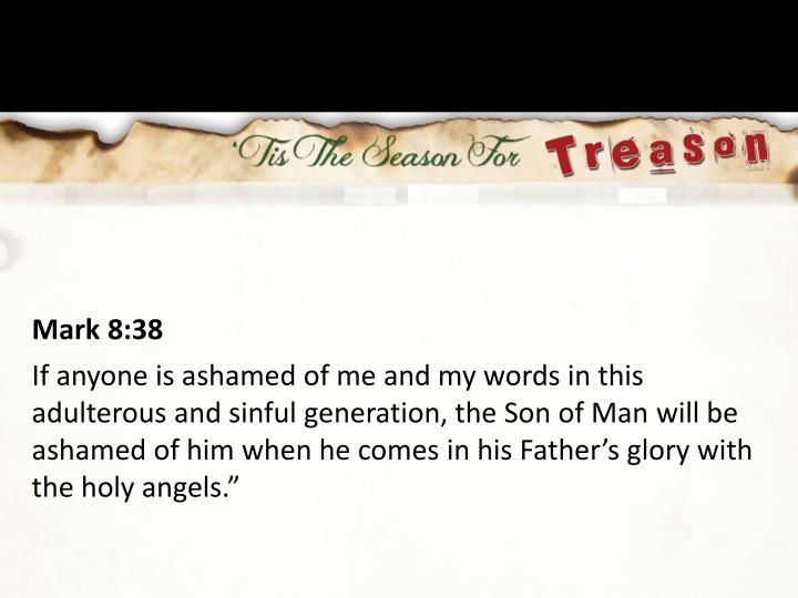 Mark 8:38