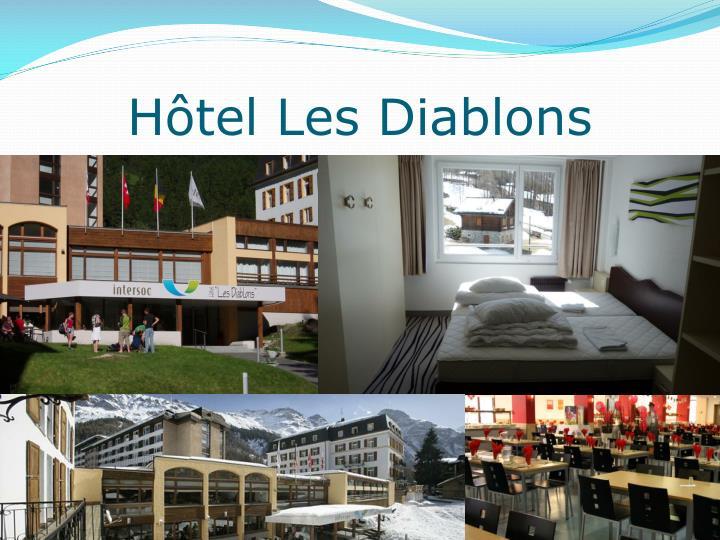 Hôtel Les Diablons