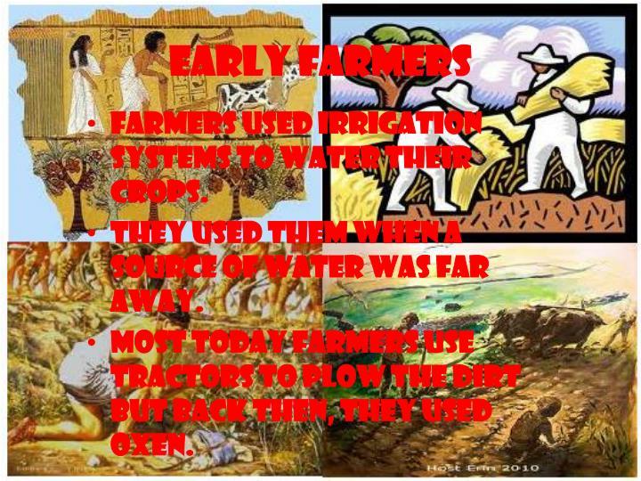 Early farmers