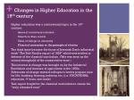 changes in higher education in the 19 th century